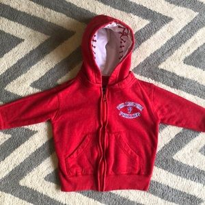 Other - Phillies Hooded Zip Sweatshirt